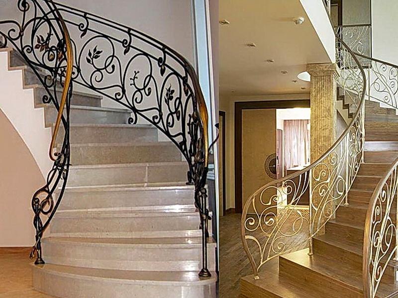 Кованые винтовые лестницы N 3-3538