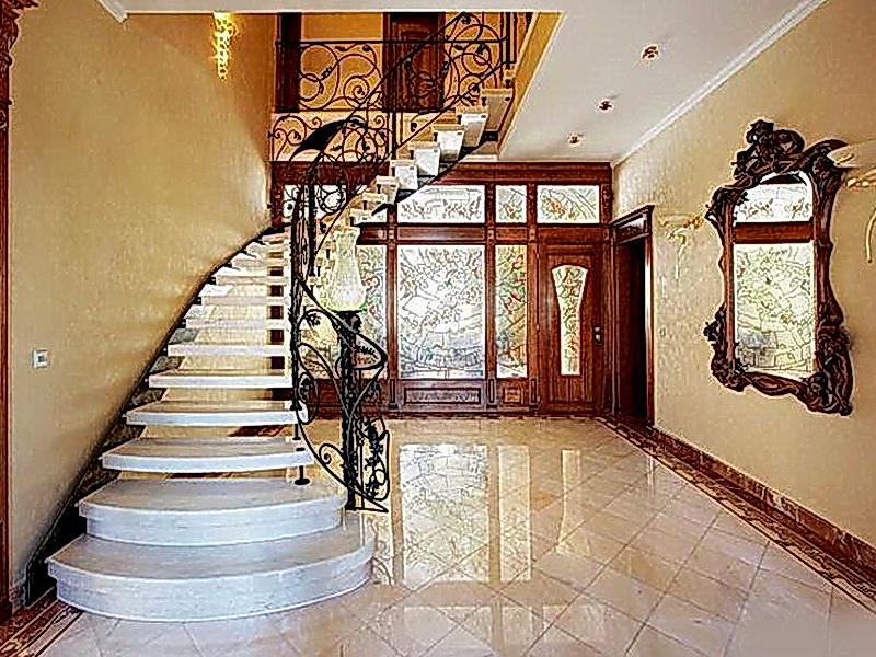Кованые винтовые лестницы N 3-3539