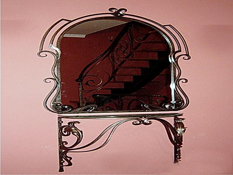 Кованое зеркало N 19008