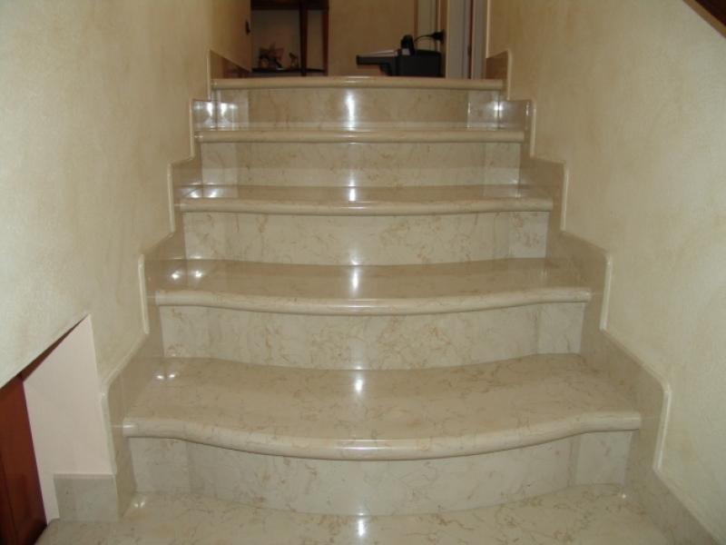 Лестница из мрамора M 1006