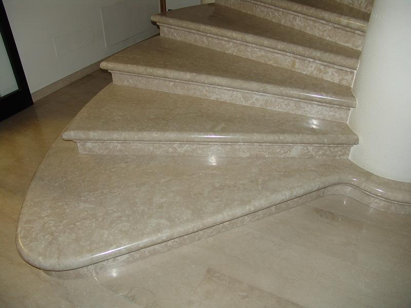Лестница из мрамора M 1016
