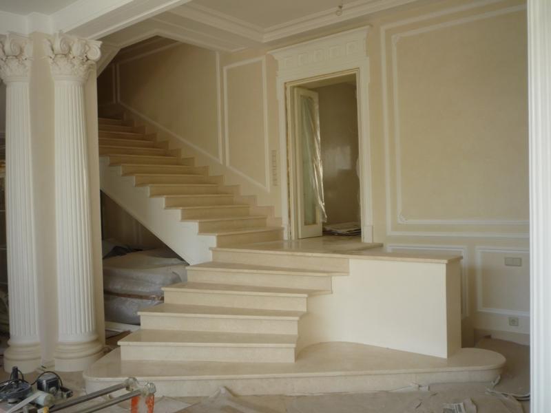 Лестница из мрамора M 1001
