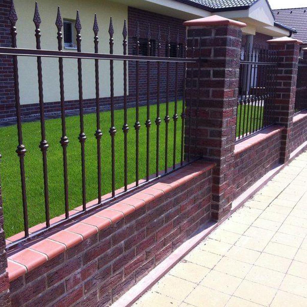 Металлическая ограда М-о1006