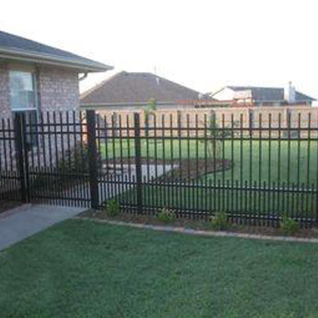Металлическая ограда М-о1009