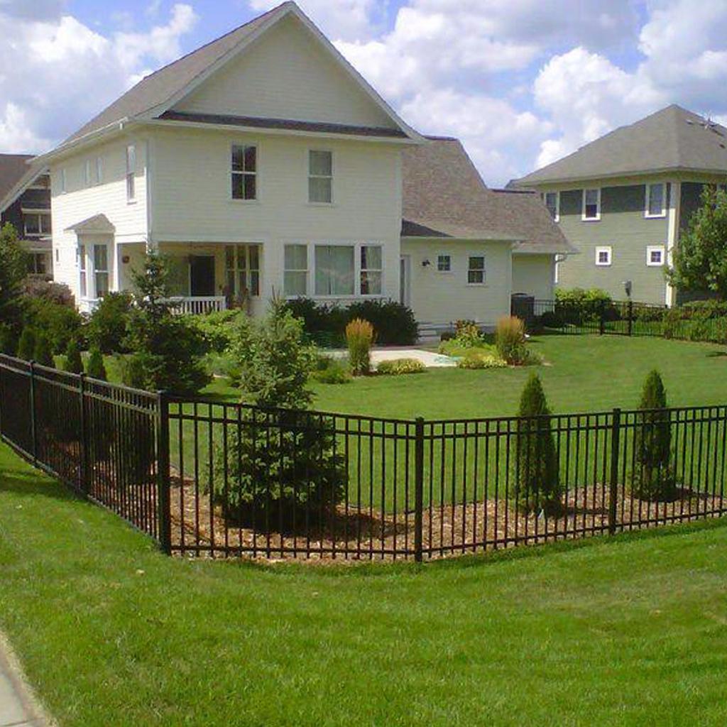 Металлическая ограда М-о1011