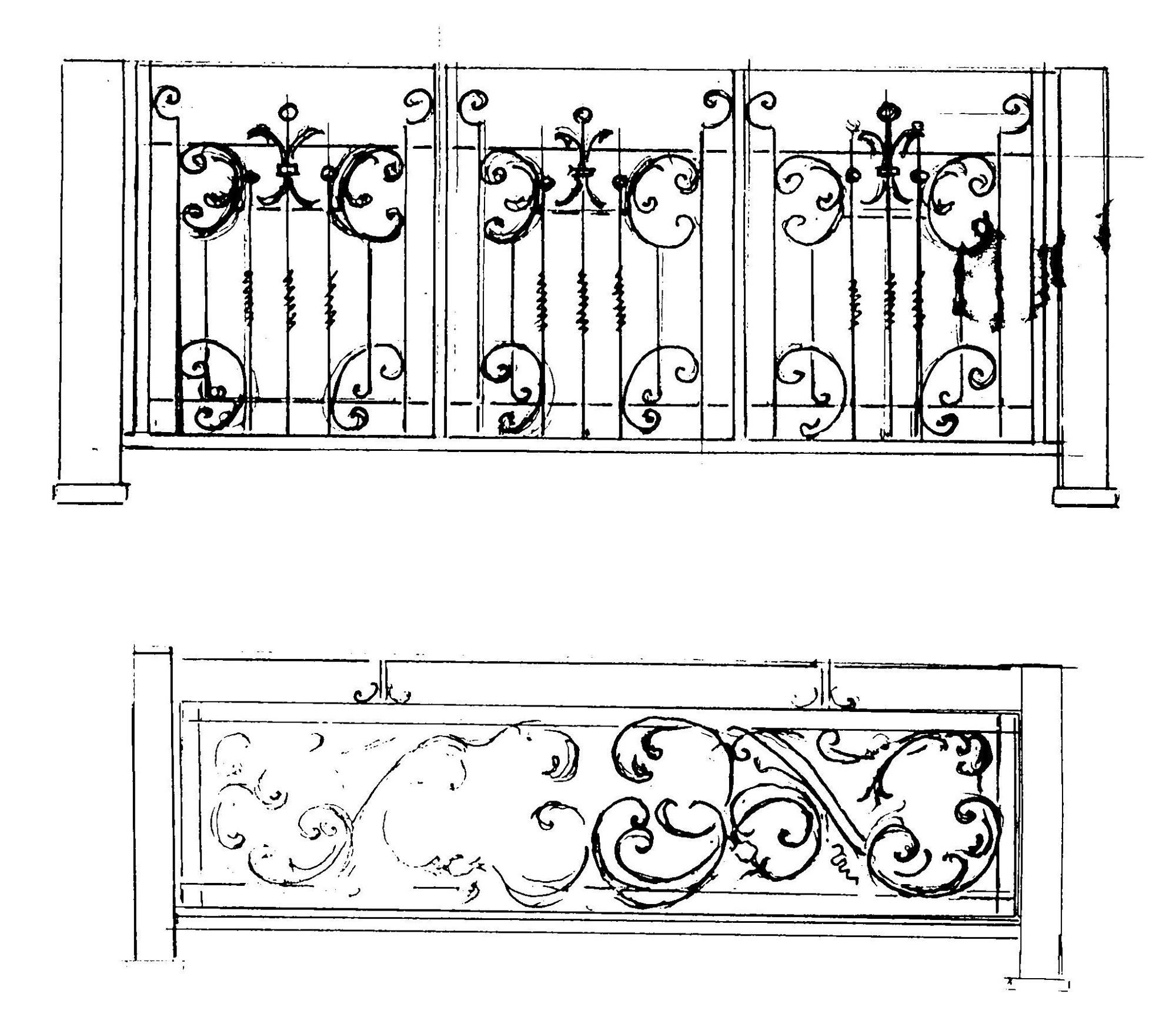 ритуальные ограды эскизы: